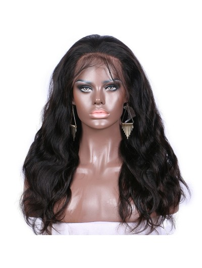 Body Wave Lace Front Wigs Human Hair With Baby Hair