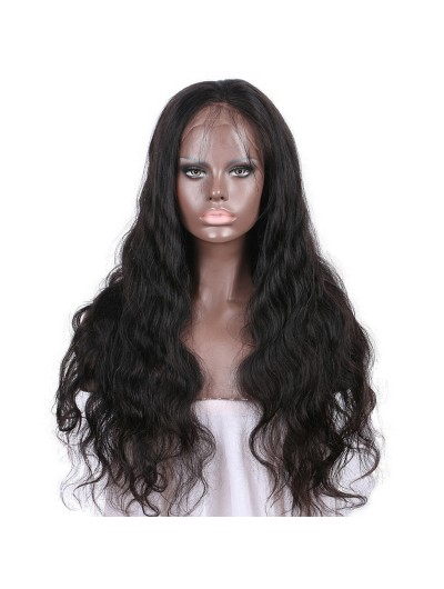 Remy Brazilian Human Hair Lace Front Wigs With Baby Hair For Black Women