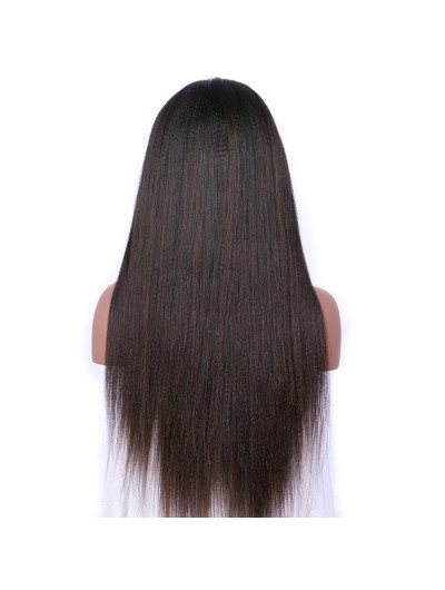 Yaki Straight Lace Front Wig for Women