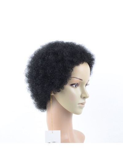 Cheap Afro Kinky Curly Synthetic Wig For African American