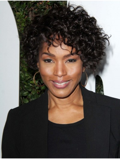 Short Textured Curls Capless Synthetic Wig