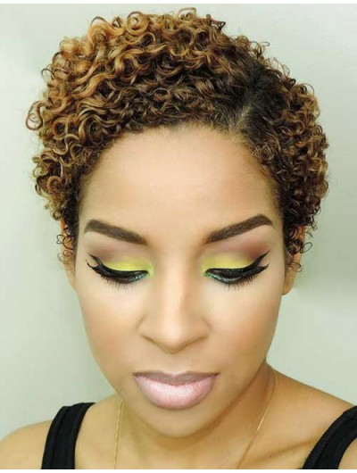 Short Curly Hairstyle Wig For Black Women