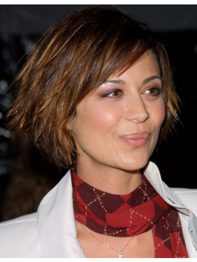 Catherine Bell Capless Short Synthetic Wig
