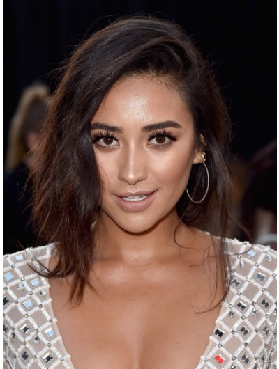 Shay Mitchell Updos Loose Braid Neaepcsq Wig