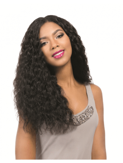 Spanish Curly Lace Front Long Synthetic Hair Wig