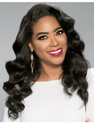 Synthetic Fabulous Kenya Moore Lace Wig Shop Afro Wig
