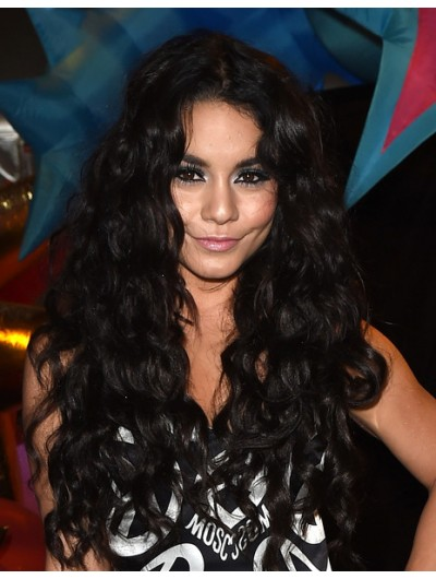Vanessa Hudgens Long Hairstyles Lace Curls Wig