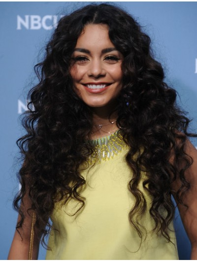 Vanessa Hudgens Long Hairstyles Curls Wig