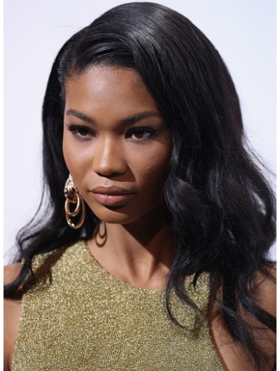 Chanel Iman Long Hairstyles Wavy Cut Wig, Afro Wigs Sale