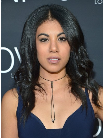 Chrissie Fit Long Hairstyles Lace Front Curls Wig