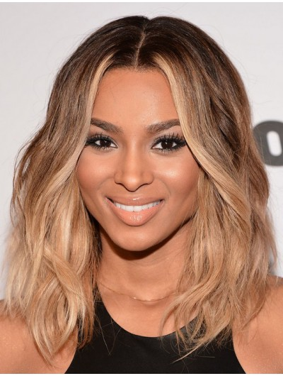 Ciara Honey Wavy Hairstyle Wig For Black Women