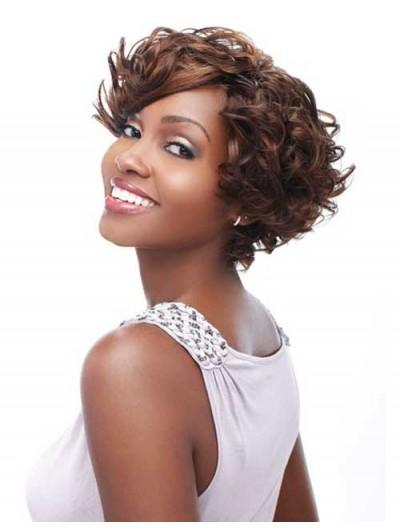Cute Short Wavy Cuts Wig For Black Women