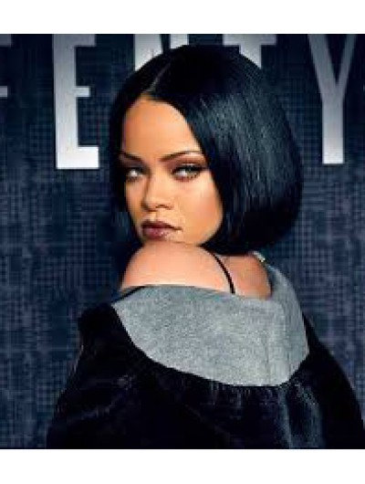Haircuts Rihanna Today Lace Front Short Wig