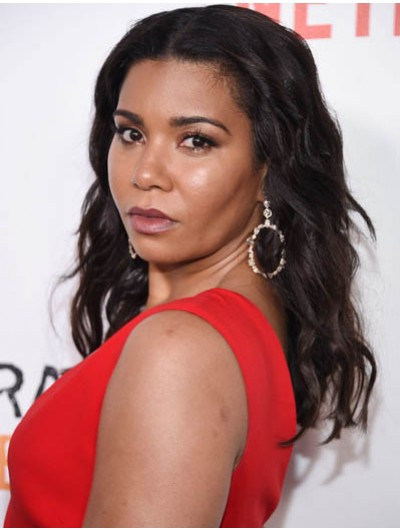 Jessica Pimentel Long Hairstyles Lace Front Wig