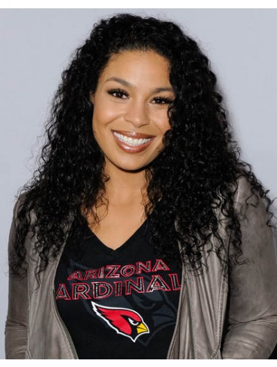 Jordin Sparks Long Hairstyles Full Lace Curls Wig