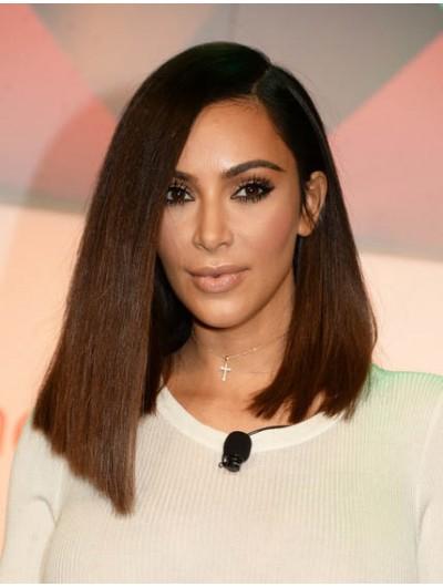 Kim Kardashian Lace Front Hairstyles Wig