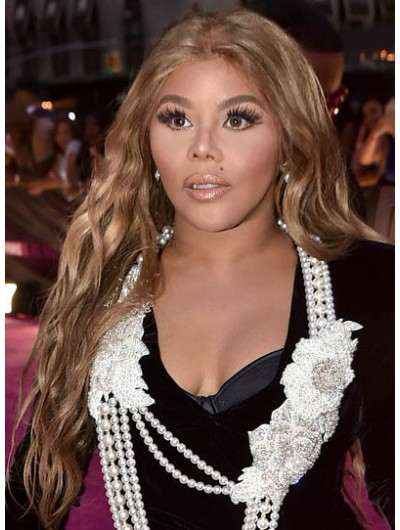 Lil Kim Long Hairstyles Wavy Cut Wig
