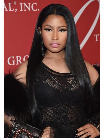 Nicki Minaj Long Straight Cut Wig