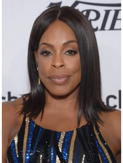 Niecy Nash Shoulder Length Hairstyles Flip Wig