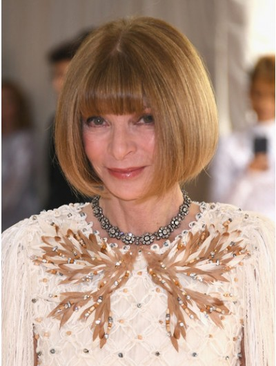 Straight Short Synthetic Hair Blonde Wig