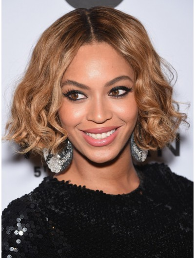 Beyonce Knowles Wavy Out Bob Wig
