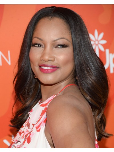 Garcelle Beauvais Long Wavy Cut Wig