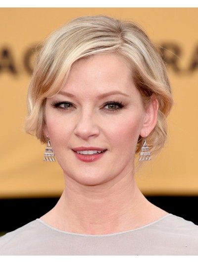 Gretchen Mol Short Wavy Cut Wig