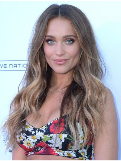Hannah Jeter Long Wavy Cut Wig
