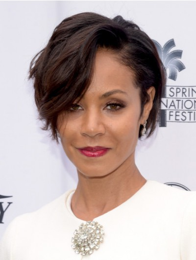 Jada Pinkett Smith Short Wavy Cut Wig