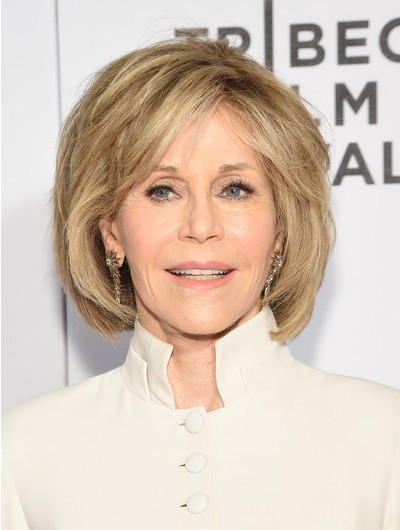 Jane Fonda Cute Bob Wig