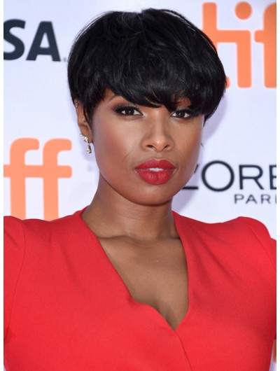 Jennifer Hudson Short Emo Cut Wig