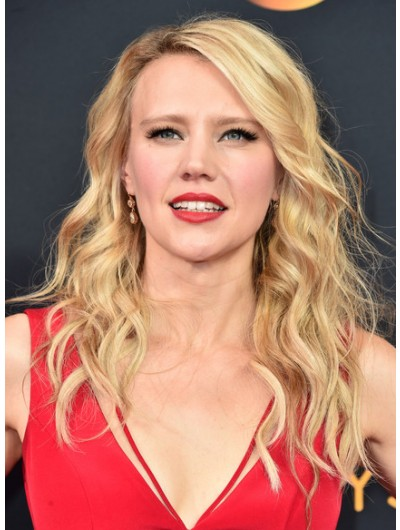 Kate McKinnon Long Wavy Cut Wig