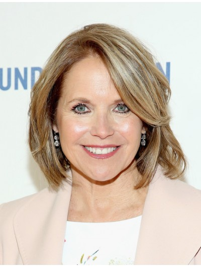 Katie Couric Full Lace Bob Wig