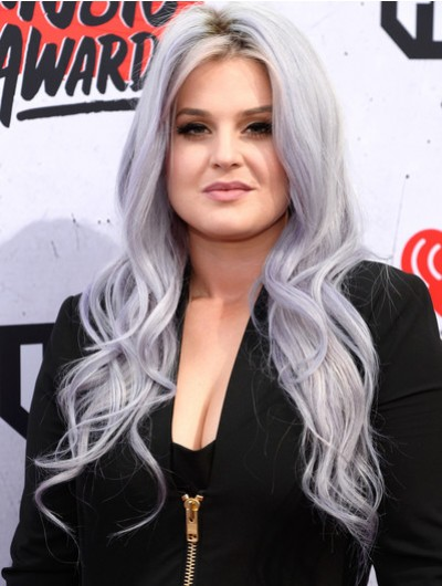 Kelly Osbourne Long Wavy Cut Wig