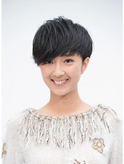 Kwai Lun Mei Emo Bangs Short Wig