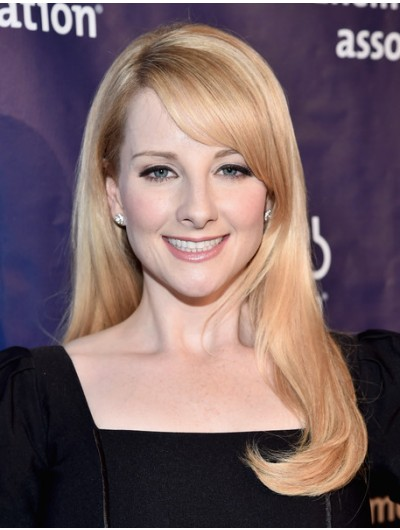 Melissa Rauch Long Side Part Wig