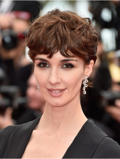 Paz Vega Short Cut With Bangs Wig