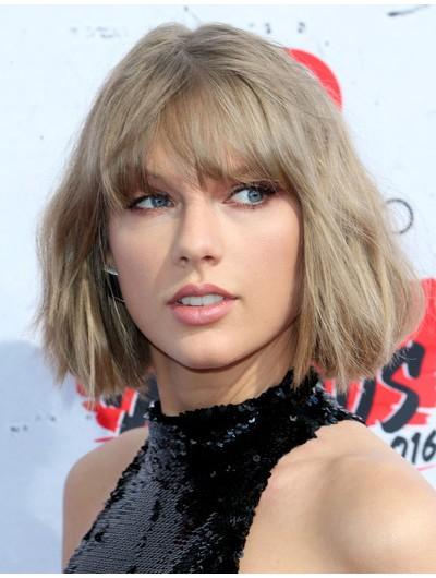 Taylor Swift Capless Bob Wig