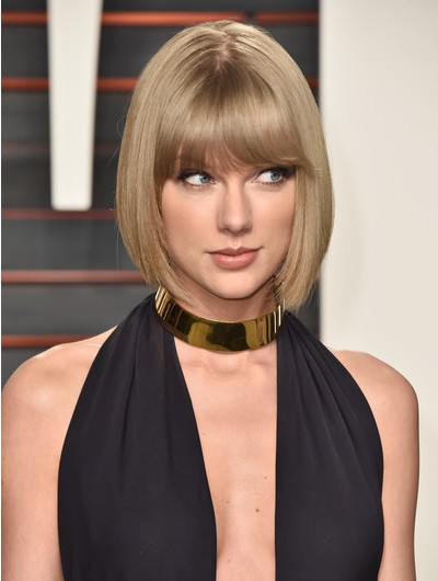 Taylor Swift Cute Short Bob Wig