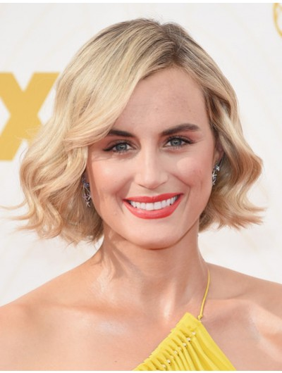 Taylor Schilling Short Wavy Hairstyles Wig