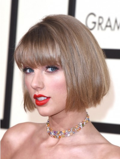 Taylor Swift Short Straight Bob Wig Buy Celebrity Wigs