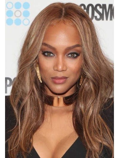 Tyra Banks Bowl Cut Lace Front Wig
