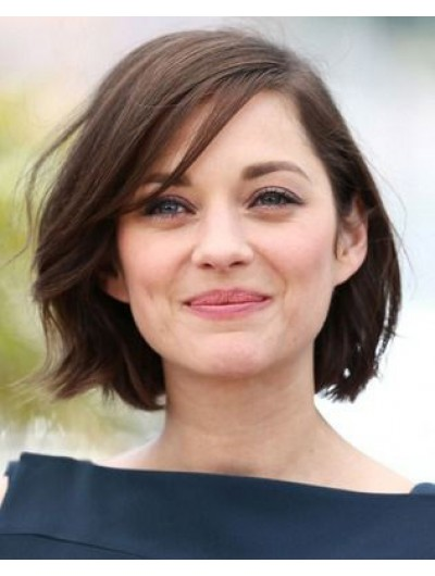 Synthetic Hair Lace Front Short Wavy Bobs Wig