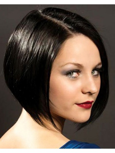 Classic Short Sleek Bob Hairstyle Wig For Women