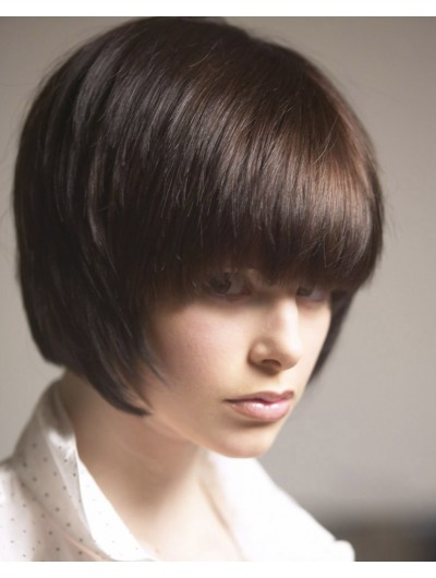Hairstyles Short Bob Remy Human Hair Wig