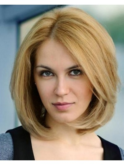 Women Hair Bob Layered Hairstyles Wig