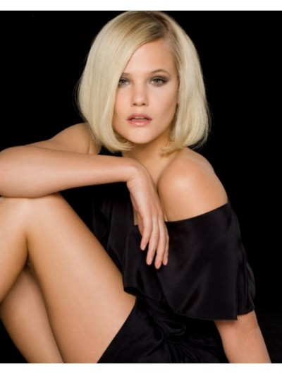 One Length Bob Lace Front Bobs Wig