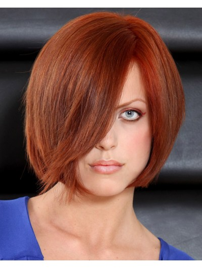 Synthetic Hair Lace Front Short Straight Bobs Wig