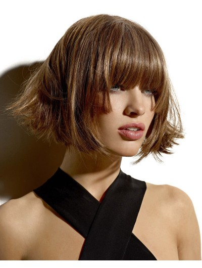 Short Bob With Volume Wig