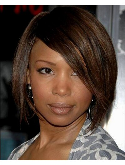 Short Bob Hairstyles Cuts Wig With Bangs